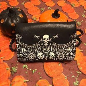 Loungefly skull purse/ crossbody